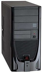 Корпус ATX FOXCONN TS-841, 400Вт,  черный