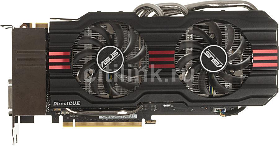 Видеокарта ASUS GeForce GTX 670,  2Гб, GDDR5, Ret [gtx670-dc2-2gd5]