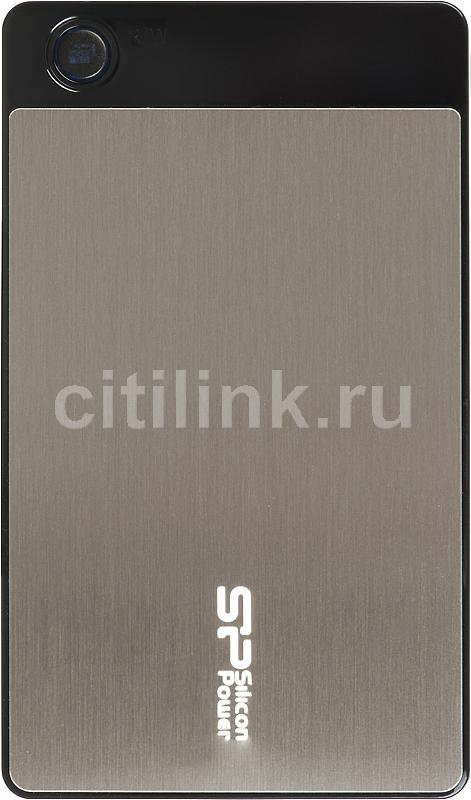 Внешний жесткий диск SILICON POWER Armor A50, 750Гб, серебристый [sp750gbphda50s2g]