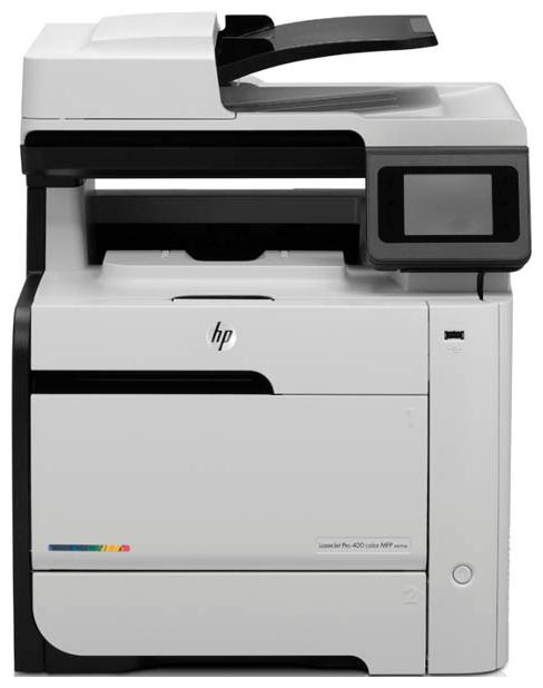 МФУ HP Color LaserJet Enterprise M575dn,  A4,  лазерный,  белый [cd644a]