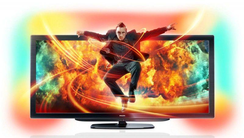 """LED телевизор PHILIPS 58PFL9956H/12  58"""", 3D,  FULL HD (1080p),  черный"""