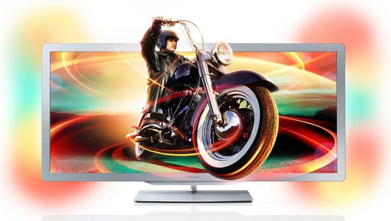 """LED телевизор PHILIPS 50PFL7956H/12  50"""", 3D,  FULL HD (1080p),  черный"""