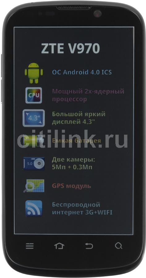 Смартфон ZTE V970, черный