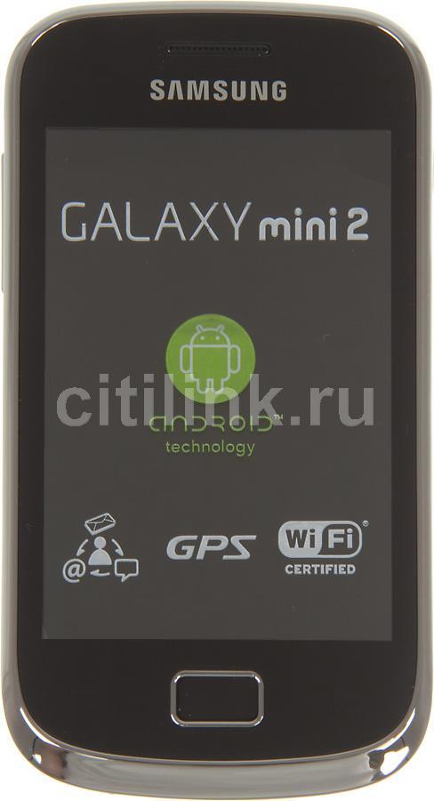 Смартфон SAMSUNG Galaxy mini 2 GT-S6500  желтый