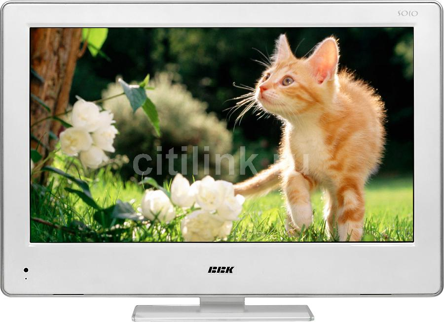"LED телевизор BBK Solo LED2473FDTW  ""R"", 23"", FULL HD (1080p),  c DVD плеером,  белый"