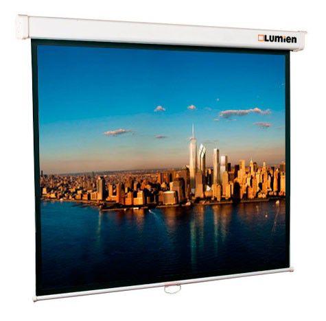 Экран Lumien 203x203см Master Picture LMP-100104 1:1 настенно-потолочный рулонный (отремонтированный)