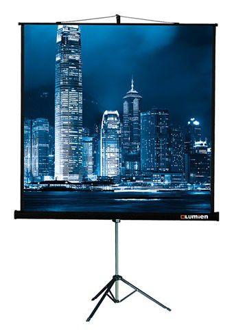 Экран LUMIEN Master View LMV-100103,  180х180 см, 1:1,  напольный