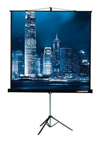 Экран LUMIEN Master View LMV-100109,  203х203 см, 1:1,  напольный
