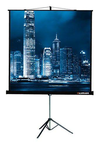 Экран LUMIEN Master View LMV-100105,  244х244 см, 1:1,  напольный