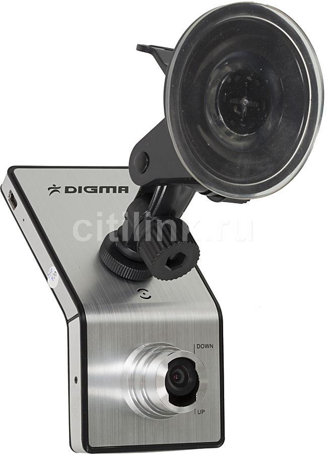 Видеорегистратор DIGMA D-Vision DVR12 серебристый