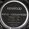Колонки автомобильные KENWOOD KFC-1352RG2,  коаксиальные,  150Вт вид 4