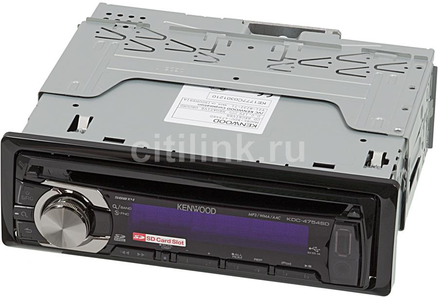 Автомагнитола KENWOOD KDC-4754SD,  USB,  SDHC