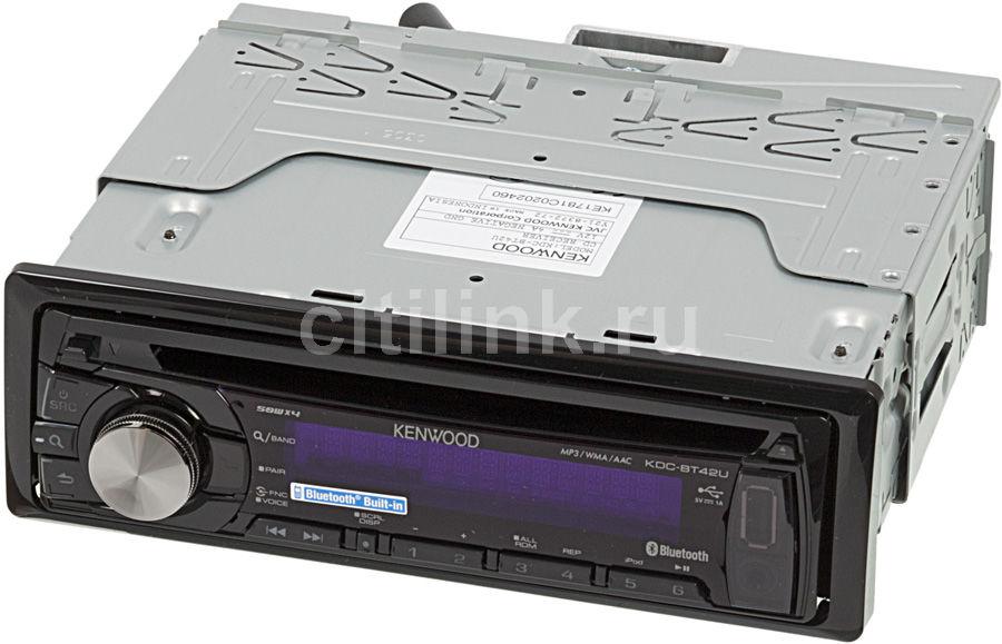 Автомагнитола KENWOOD KDC-BT42U,  USB