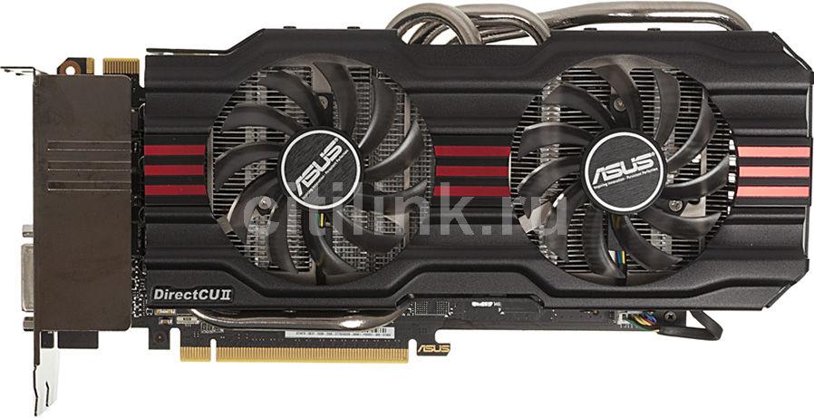Видеокарта ASUS GeForce GTX 670,  2Гб, GDDR5, OC,  Ret [gtx670-dc2t-2gd5]