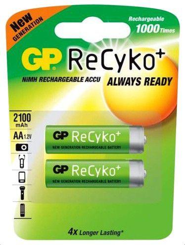 Аккумулятор GP 210AAHCBLLDM3-2CR2,  2 шт. AA,  2100мAч