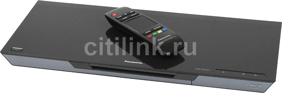 Плеер Blu-ray PANASONIC DMP-BDT320, черный [dmp-bdt320ee]