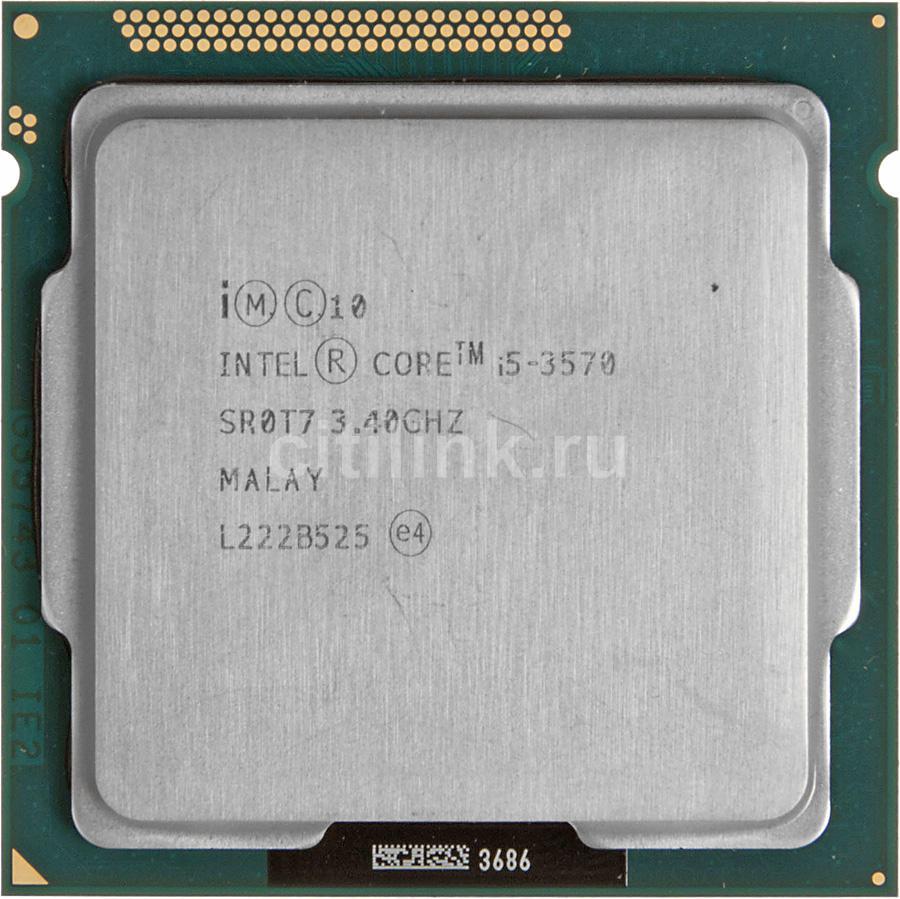 Процессор INTEL Core i5 3570, LGA 1155 OEM [cm8063701093103sr0t7]