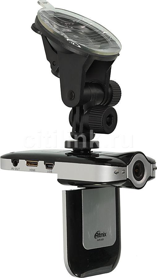 Видеорегистратор RITMIX AVR-435 серебристый