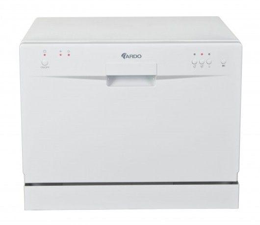 Посудомоечная машина ARDO DWC06E3W,  компактная, белая