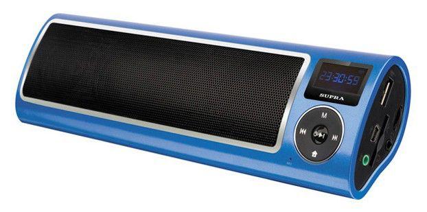 Аудиомагнитола SUPRA PAS-6255,  синий