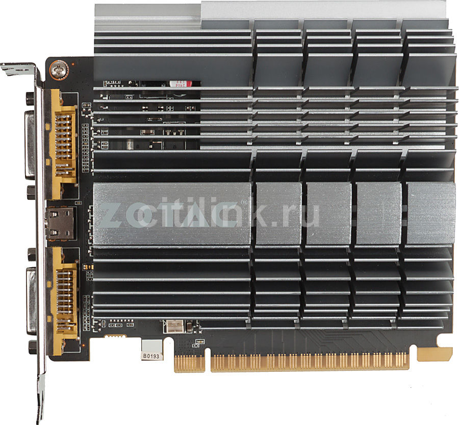 Видеокарта ZOTAC GeForce GT 610,  1Гб, DDR3, Ret [zt-60603-20l]