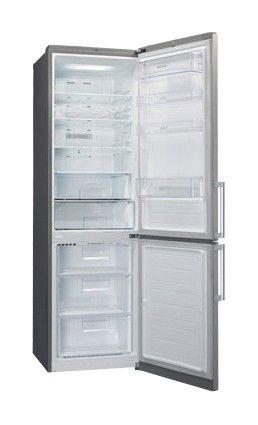 Холодильник LG GA-B489ELQA,  двухкамерный,  серебристый