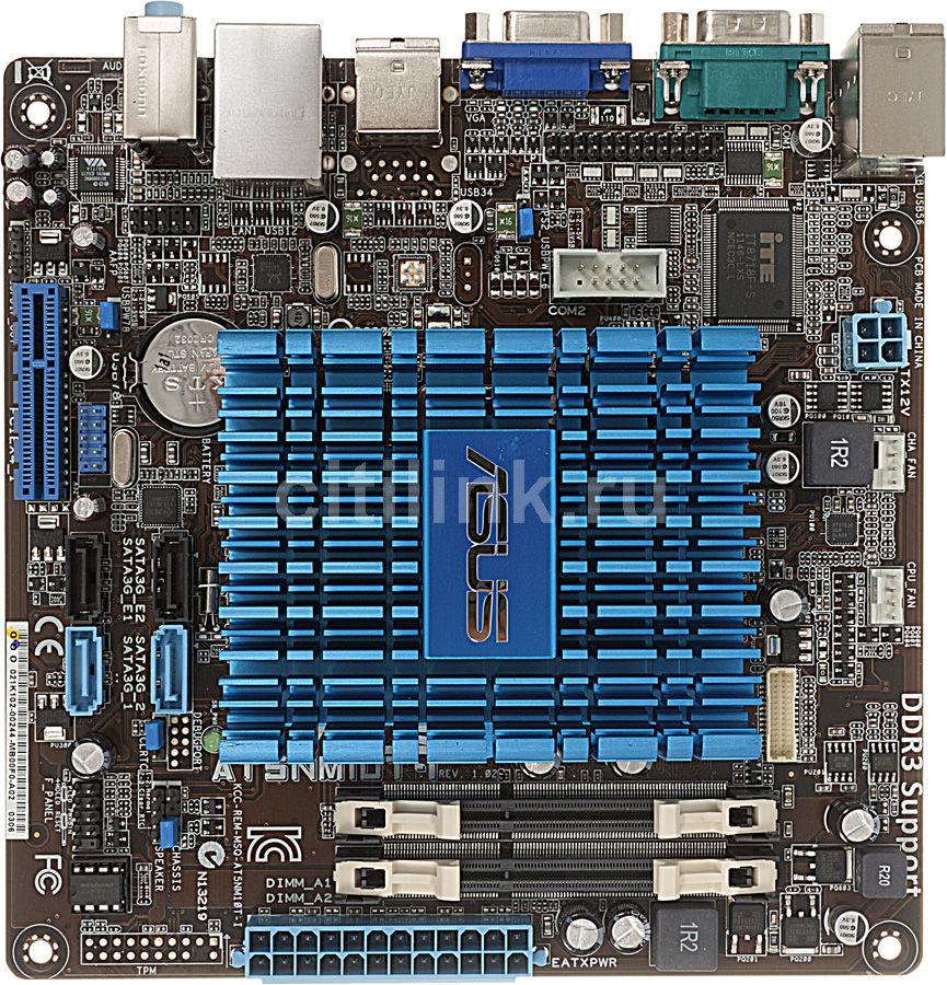 Материнская плата ASUS AT5NM10T-I mini-ITX, Ret