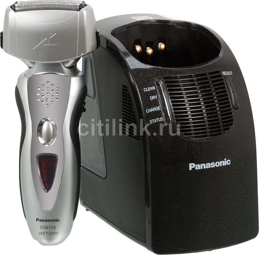 Электробритва PANASONIC ES8109S520,  серебристый и черный