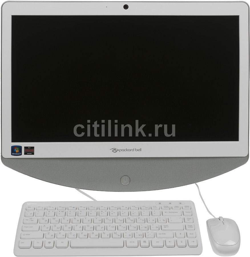 Моноблок ACER Packard Bell oneTwo S3230, AMD E2 1800, 4Гб, 500Гб, AMD Radeon HD 7340, DVD-RW, Windows 7 Home Basic, белый и серебристый [do.u7der.001]