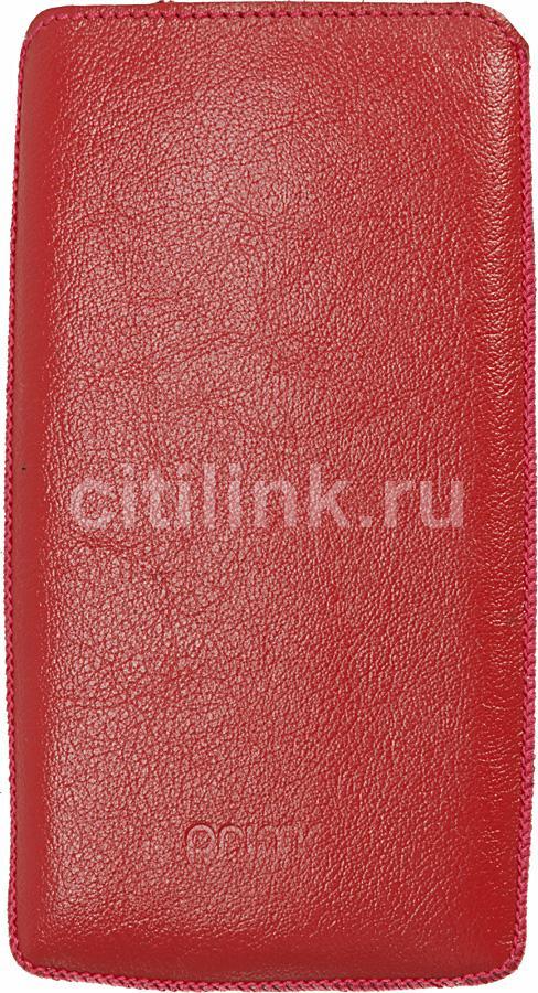 Чехол (футляр) DEPPA Prime Classic, для Sony Xperia S, красный [063]