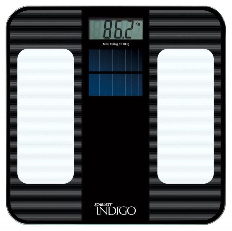 Весы SCARLETT IS-560, до 150кг, цвет: черный