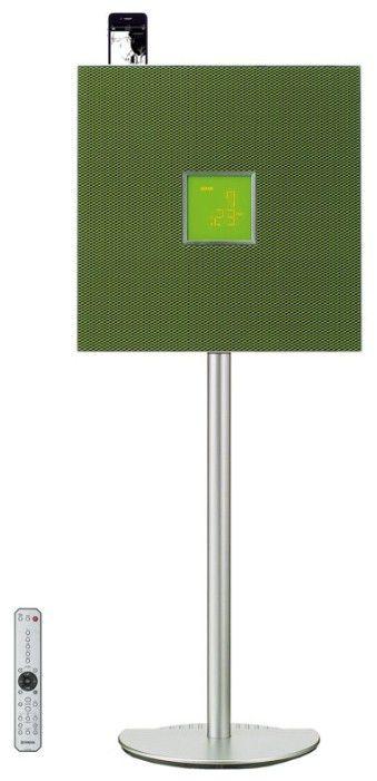 Музыкальный центр YAMAHA ISX-800,  зеленый