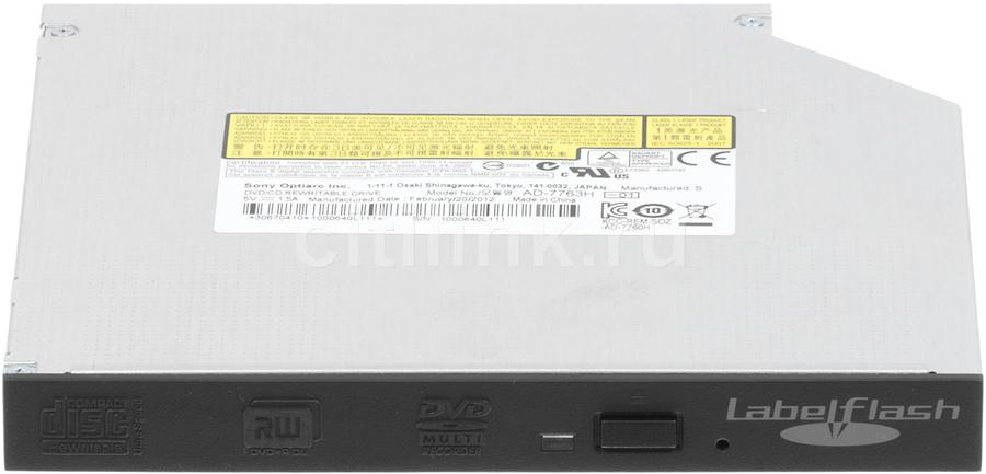 Оптический привод DVD-RW SONY AD-7763H-01, внутренний, SATA, черный,  OEM