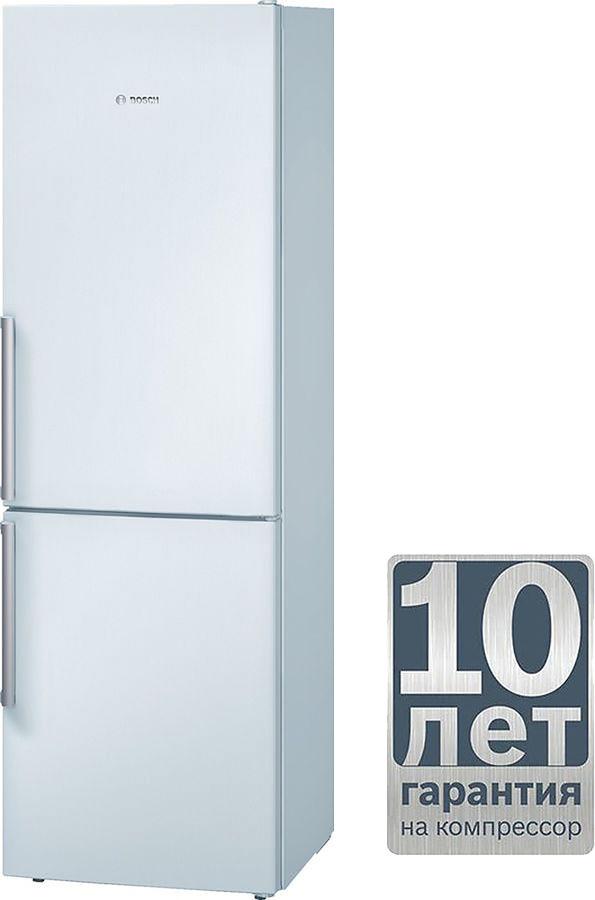 Холодильник BOSCH KGS36XW20R,  двухкамерный,  белый