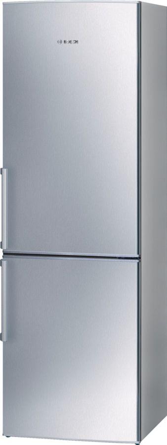 Холодильник BOSCH KGS36XL20R,  двухкамерный, нержавеющая сталь