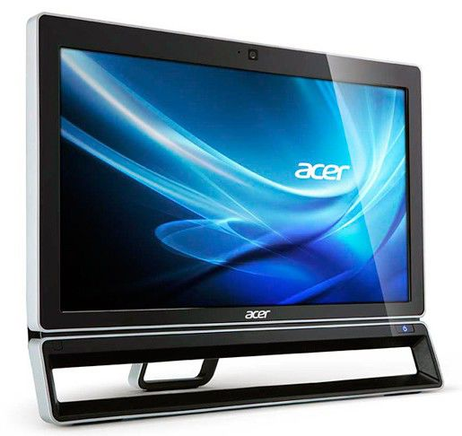 Моноблок ACER Aspire Z3771, AMD A6 3620, 4Гб, 500Гб, AMD Radeon HD 7470 - 2048 Мб, DVD-RW, Windows 7 Home Premium, черный и серебристый [do.shrer.010]