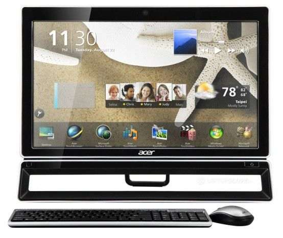 Моноблок ACER Aspire Z5771, Intel Core i7 3770S, 4Гб, 1000Гб, nVIDIA GeForce GT630 - 2048 Мб, DVD-RW, Windows 7 Home Premium, черный и серебристый [do.sl1er.004]