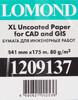 Бумага Lomond 1209137 1209137 841мм-175м/80г/м2/белый матовое инженерная бумага вид 3