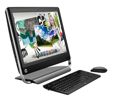 Моноблок HP TouchSmart 520-1201er, Intel Core i5 2390T, 4Гб, 1000Гб, AMD Radeon HD 7450A - 1024 Мб, DVD-RW, Windows 7 Home Premium, черный [b7g48ea]