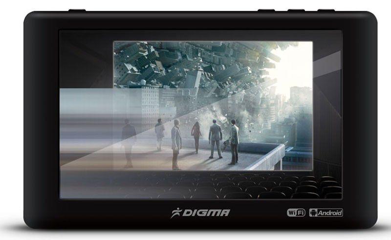 MP3 плеер DIGMA A5 flash 8Гб черный