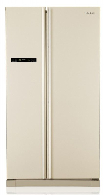 Холодильник SAMSUNG RSA1NTVB1,  двухкамерный,  бежевый [rsa1ntvb1/bwt]
