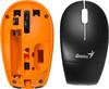 Мышь GENIUS Traveler 9000 оптическая беспроводная USB, черный и оранжевый [31030777104] вид 7