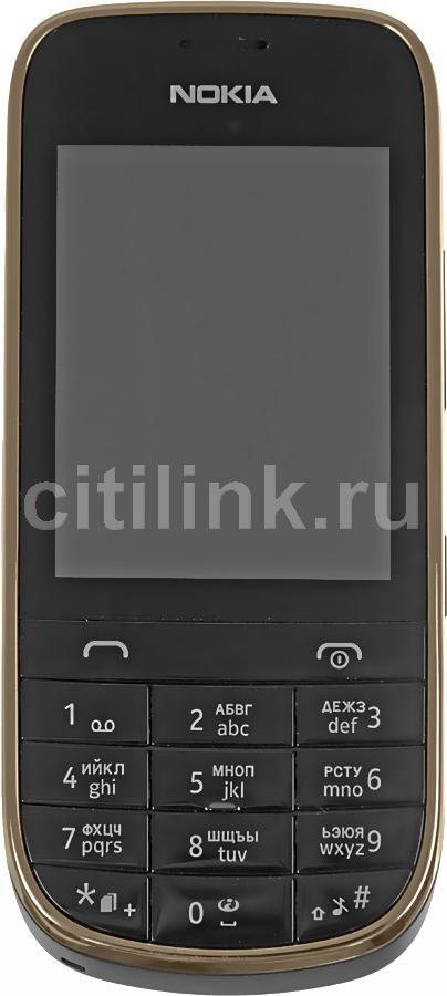 Мобильный телефон NOKIA Asha 202 черный