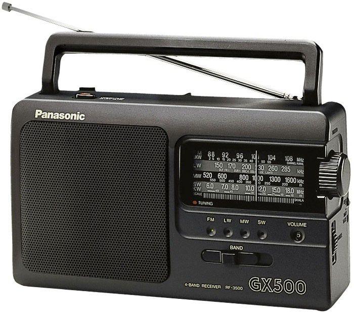 Радиоприемник PANASONIC RF-3500E9-K,  черный