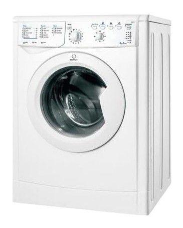 Стиральная машина INDESIT IWSB 6085, фронтальная загрузка,  белый