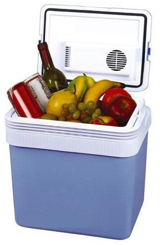 Автохолодильник MYSTERY MTC-24,  24л,  синий и белый