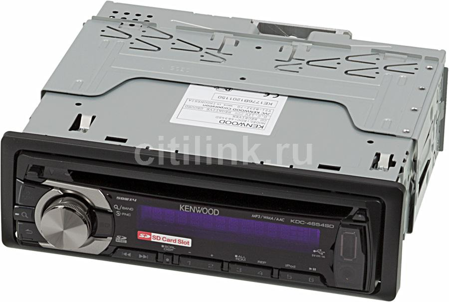 Автомагнитола KENWOOD KDC-4654SD,  USB,  SDHC