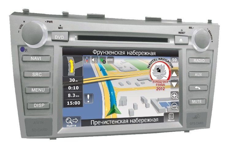 Автомагнитола VELAS V-TCAG,  Toyota Camry (2006+),  USB,  SD