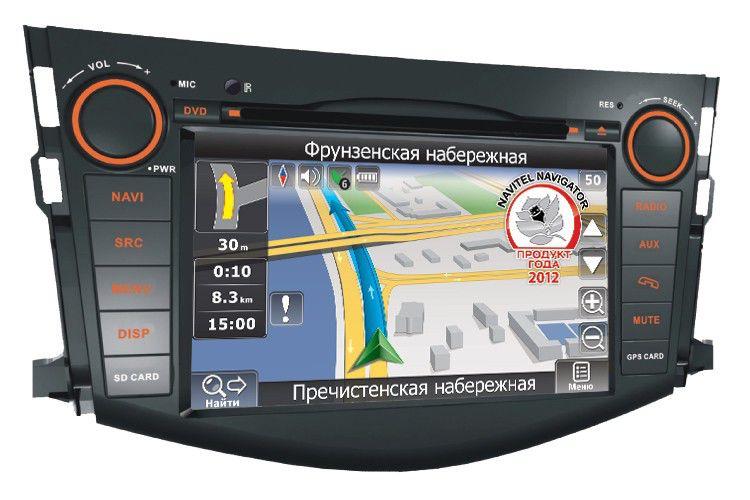 Автомагнитола VELAS V-TR4G,  Toyota RAV4 (2006-2011),  USB,  SD
