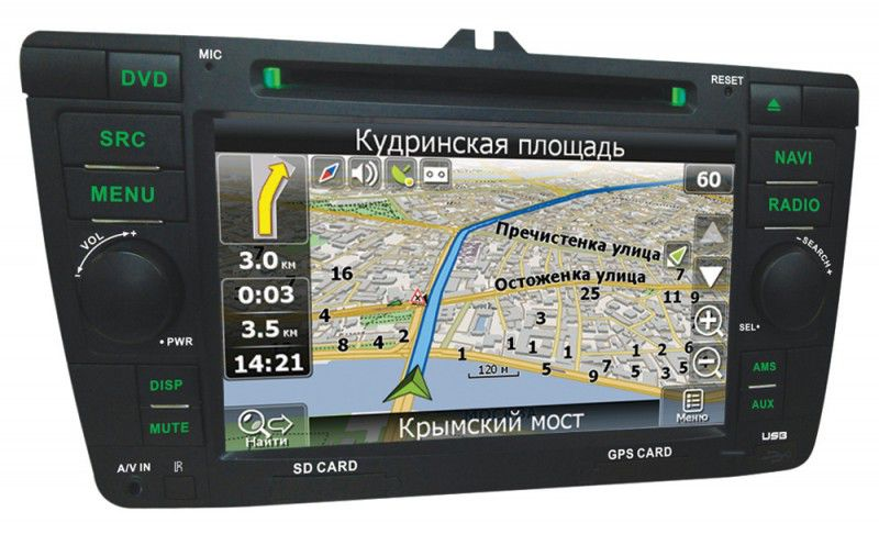 Автомагнитола VELAS V-SOG,  Skoda Octavia (2009+),  USB,  SD